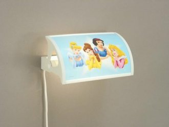 Princess bed lamp