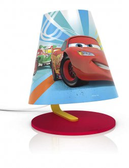 Cars table lamp LED