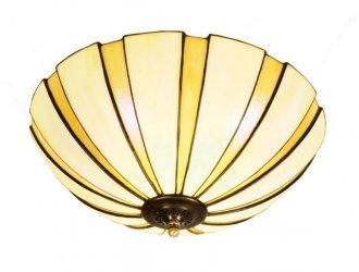 Coupe Amber ceiling light