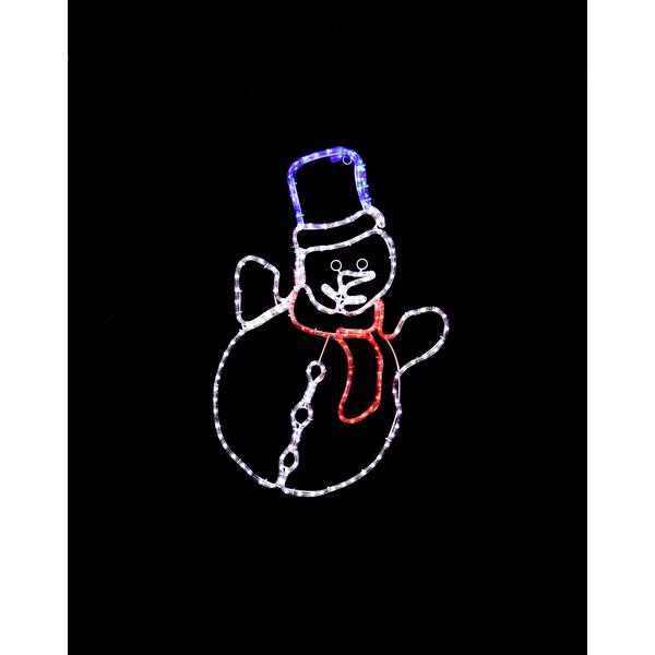 Silhuette Ropeart Snow Man Graveyard Lampgallerian Com