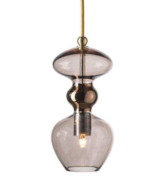 Futura Pendant Smoke 24cm Ceiling Lamps Lampgallerian Com
