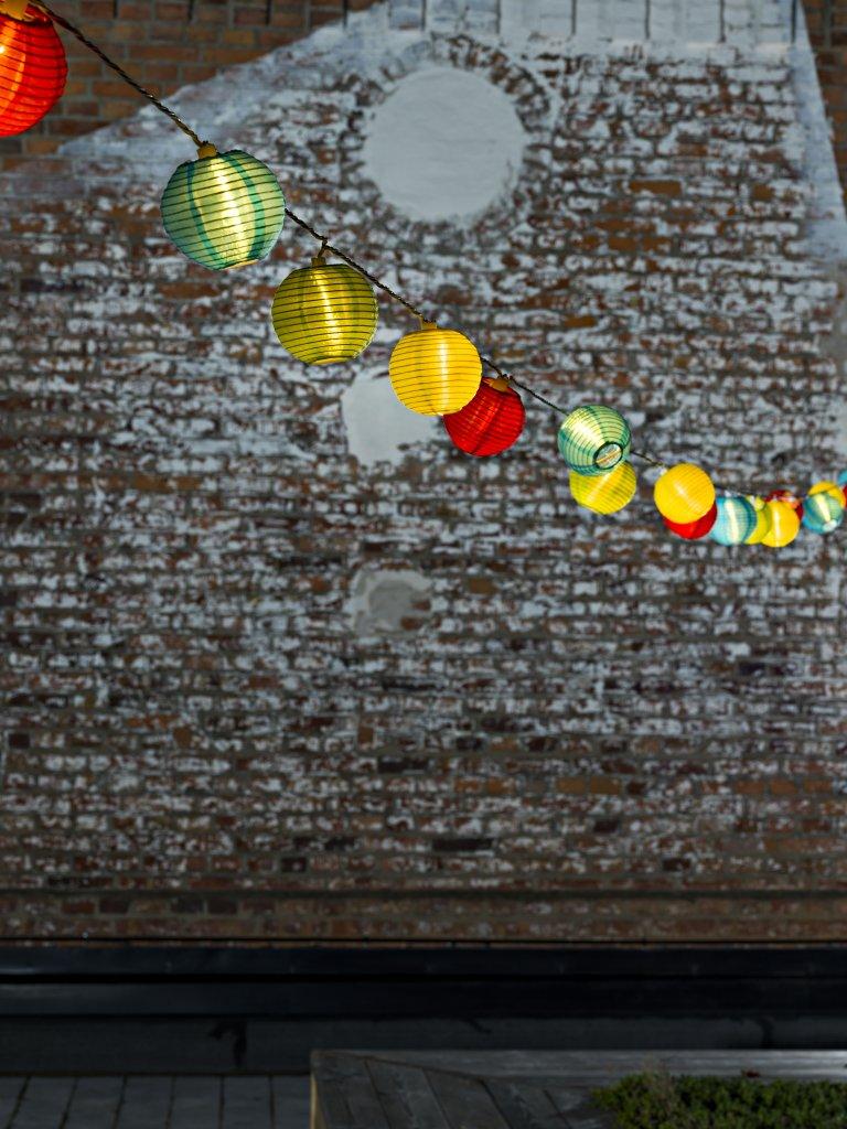 Light Trail 20l Paper Balls Outdoor Lighting