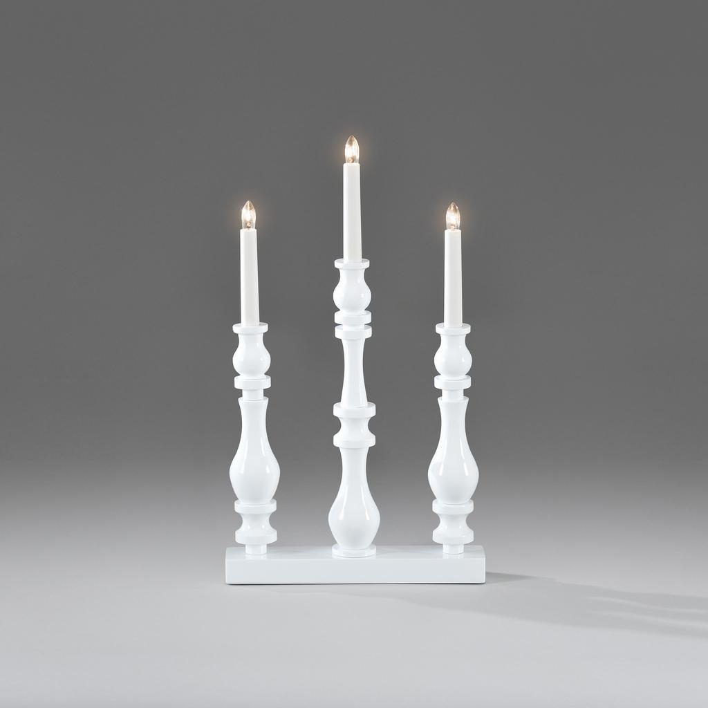 Elljusstake 3 Lj Tr 228 Candlesticks Lampgallerian Com