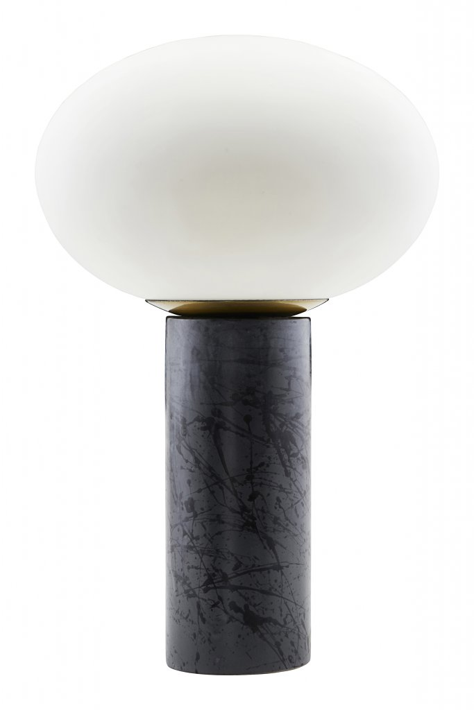 lampe opal table lamps. Black Bedroom Furniture Sets. Home Design Ideas