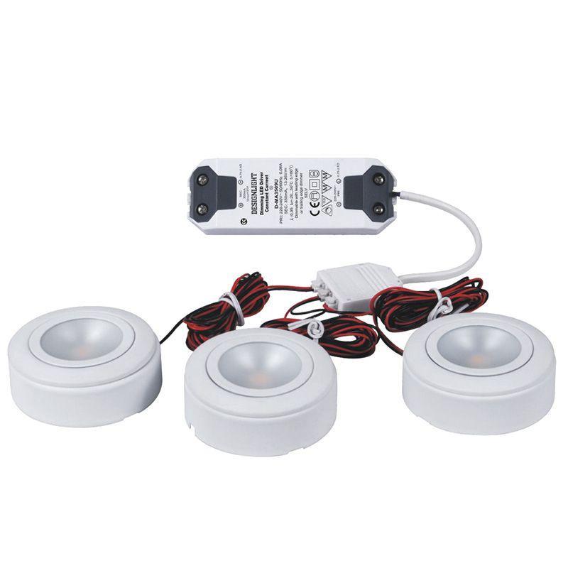 led downlight 3 set trafo downlights. Black Bedroom Furniture Sets. Home Design Ideas