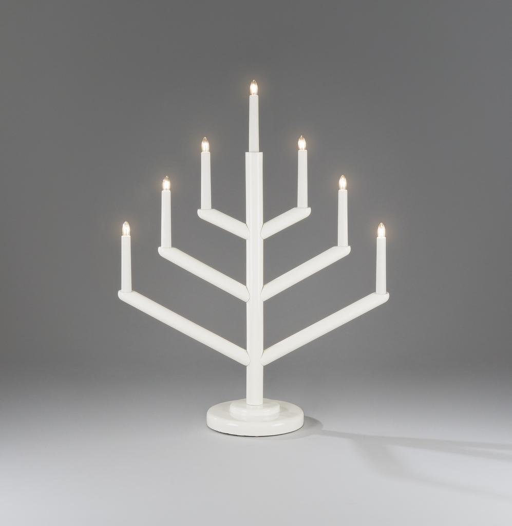 Elljusstake 7 lights christmas lighting for 59 victorian lighted black lamp post christmas decoration