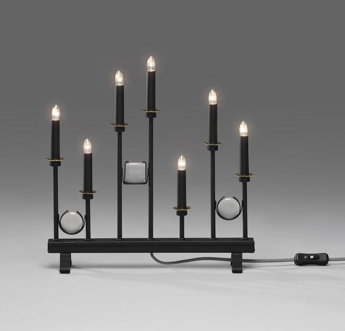 Christmas lights 7 metal black christmas lighting for 59 victorian lighted black lamp post christmas decoration