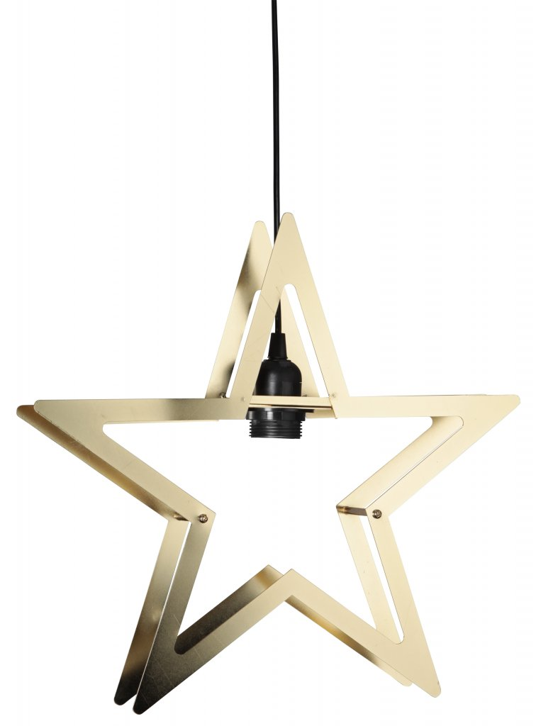 Starling Metal Star Brass Christmas Star Lampgallerian Com