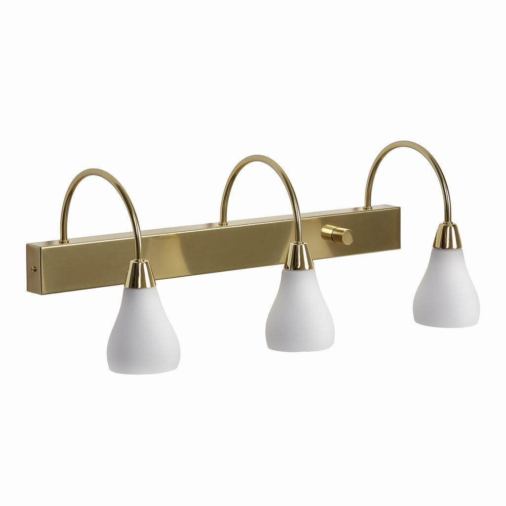 Wall Lamps Brass : ockero 3 brass - Wall Lamps Lampgallerian.com